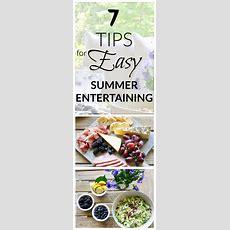 7 Tips For Easy Summer Entertaining  Decor Gold Designs