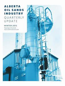 Alberta Oil Sands Industry Quarterly Update Winter 2015 by ...