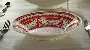 Assiette A Couscous : yodeco assiettes couscous fabricant vaisselle artisanale france ~ Teatrodelosmanantiales.com Idées de Décoration
