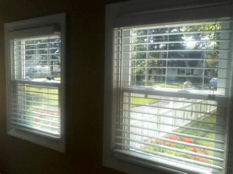 window blinds  mount modification doityourself