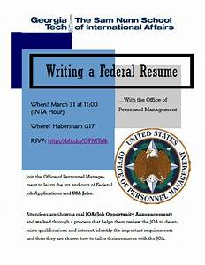 writing a federal resume workshop inta undergraduate With federal resume writing workshop