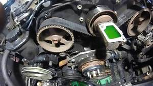 Toyota 3 0 3vze Timing Belt Installation How To