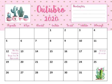 calendario cactos suculentas sem propaganda planner