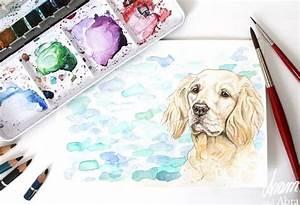 Bild Malen Lassen : die besten 25 hund malen ideen auf pinterest hund illustration instagram zeichen und hund ~ Sanjose-hotels-ca.com Haus und Dekorationen