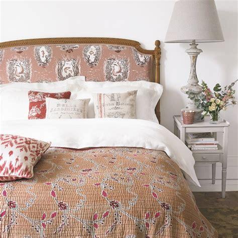 Dusty Pink Country Bedroom Housetohomecouk