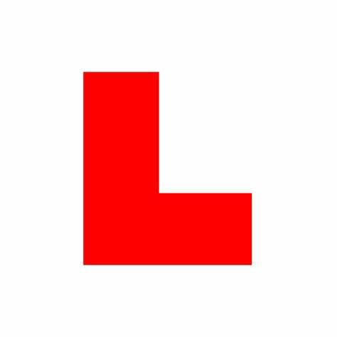 L Uk by L Plate