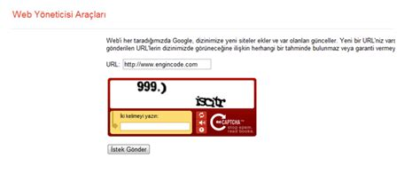 google ve binge site kayit etmek ders  engincodecom