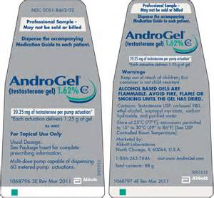 AndroGel Testosterone Gel Pump