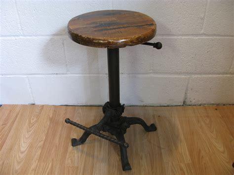 iron bar stools iron counter stools vintage cast iron bar stool ebay 9011