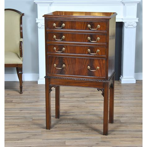 silver chest niagara furniture mahogany silver chest  legs