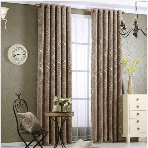 aliexpress acheter simple 233 pais chenille tissu rideaux pour salon rideau argent en cuir