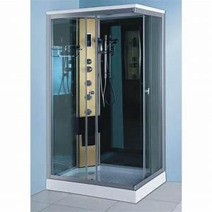 Cabine De Douche Hydromassante : cabine de douche milano 100 70 achat vente cabine de ~ Dailycaller-alerts.com Idées de Décoration