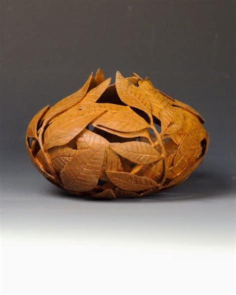 wood turned art enhanced  carving paints