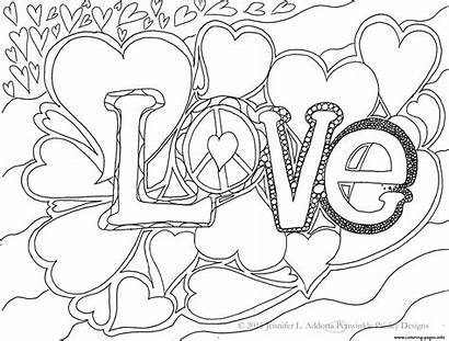 Coloring Word Pages Printable