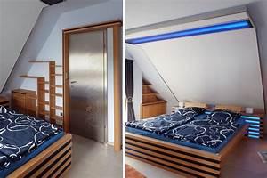 Design Möbel Stuttgart : designm bel schlafzimmereinrichtung in holz glas und stahl ~ Michelbontemps.com Haus und Dekorationen