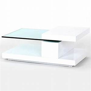 Glass white coffee table coffee tables ideas modern for White glass coffee table