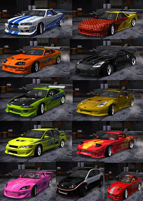 speed  wanted global fastfurious car pack