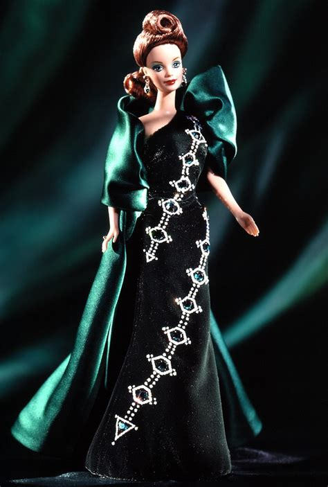 Mattel Barbie Emerald Embers Jewel Essence Collection Doll Bob Mackie
