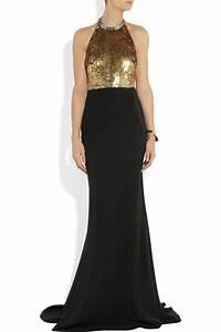 Alexander Mcqueen Black And Gold Dress | www.imgkid.com ...