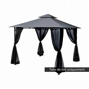 Tonnelle 4 X 3 : toile tonnelle 3x3 achat vente pas cher ~ Edinachiropracticcenter.com Idées de Décoration