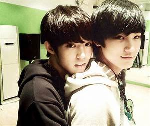 Luhan and Kai predebut. I really don't know what to say ...