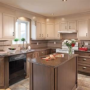 art decoration cuisine rustique With plan de maison moderne 14 cuisine rustique idee deco cuisine ancienne marie claire