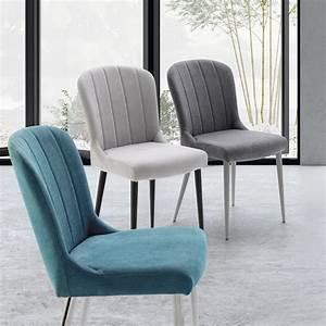 Chaise Tissu Design : chaise tissu pied bois salon zendart s lection zendart design ~ Teatrodelosmanantiales.com Idées de Décoration