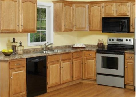light oak majestic kitchen cabinets