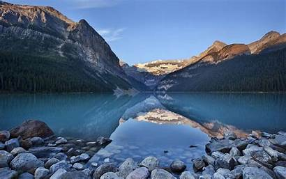 Calm River Mountains Desktop Lake Wallpapers Mountain