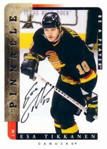 Esa Tikkanen certified autograph Vancouver Canucks Be A ...