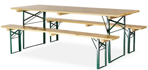 Table Avec Banc En Bois 220x70 Cm  Piètement Cornière