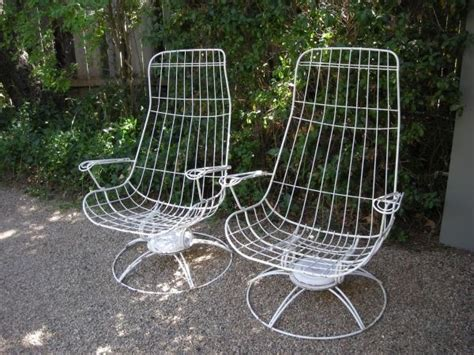mid century homecrest swivel rockers homecrest patio