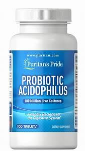Probiotic Acidophilus 100 Capsules