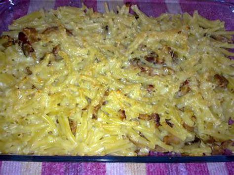recette de gratin de p 226 te au poulet