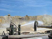 hydraulic mining wikipedia
