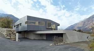 Haus Aus Beton : klimahaus aus beton moderne einfamilienh user ~ Lizthompson.info Haus und Dekorationen