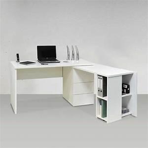 Schreibtisch Für Erstklässler : computer schreibtisch luisanes in wei hochglanz ~ Lizthompson.info Haus und Dekorationen