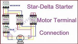 Dol Starter Wiring Diagram In Hindi