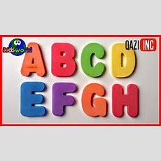 Alphabet Flashcards For Children  Video For Kids Youtube