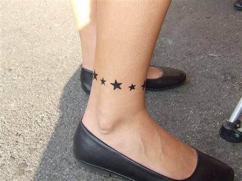 fashionwear ankle bracelet tattoo  art  women