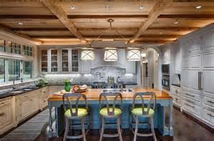 butcher block kitchen island breakfast bar 27 luxury kitchens that cost more than 100 000