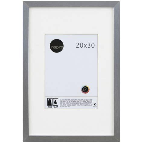 cadre lario 20 x 30 cm argent leroy merlin