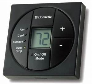 Dometic Single Zone Lcd Thermostat  Cool  Furnace  Heat