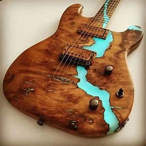 guitars with glow in the dark resin - חיפוש ב-Google | DIY ...