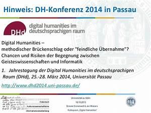Http Www Uni Passau De : wise 2013 kolloquium digital humanities 01 kick off ~ Eleganceandgraceweddings.com Haus und Dekorationen