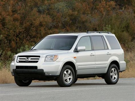 2008 Honda Pilot Crash Test Ratings
