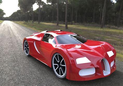 Bugatti Veyron 3d Printable Model