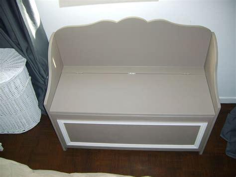 banc coffre chambre adulte le banc coffre photo de les meubles de seb esprit cottage