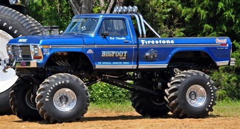 bigfoot monster truck bigfoot 1 monster truck camionetas pinterest trucks