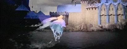 Elsa Frozen Arendelle Nokk Riding Gifs Saving